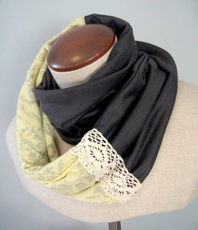 Как сшить шарф в снуд 615