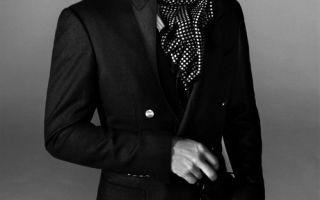Как сшить мужской шейный платок выкройка