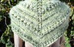Как связать платок спицами для начинающих схемы пошаговое описание