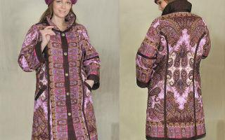 Одежда из павлопосадских платков