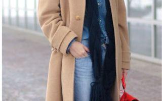 С каким шарфом носить бежевое пальто