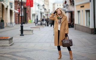 Какой шарф подойдет к коричневому пальто