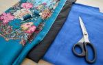 Как сшить шапку из платка своими руками