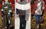 Как сделать бахрому на шарф
